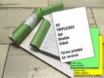 A5 Triplicate - 3 part (3pt) Double Sided